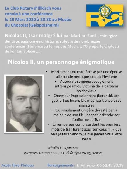 Affiche Nicolas 2 Tsar de Russie